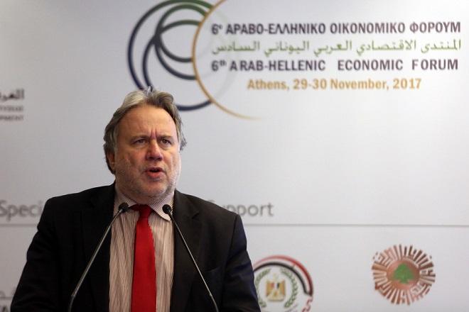 Κατρούγκαλος: Διεύρυνση της οικονομικής συνεργασίας με τον αραβικό κόσμο
