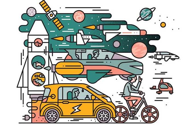 Πώς θα μετακινούμαστε το 2018; Αυτές είναι οι προβλέψεις του Fortune