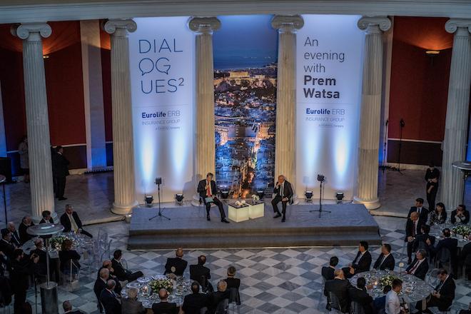 Prem Watsa: «Πιστεύουμε στην ανάπτυξη του ασφαλιστικού κλάδου στην Ελλάδα»