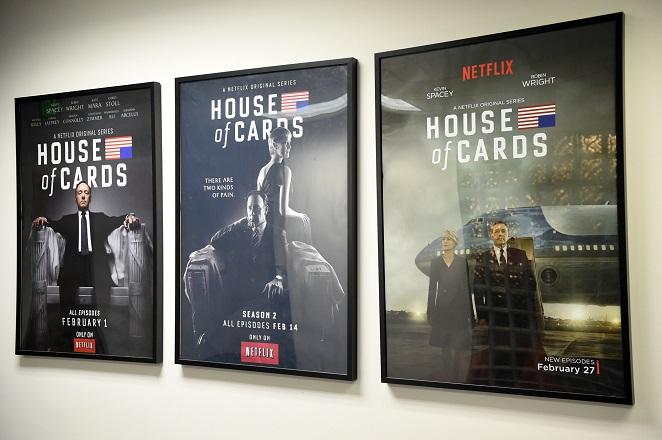 Στις αρχές του 2018 τα νέα επεισόδια του House of Cards