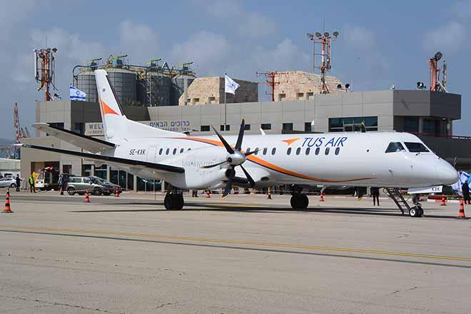 Εγκαινιάστηκε σήμερα η αεροπορική σύνδεση Λάρνακας-Ιωαννίνων με πτήση της TUS