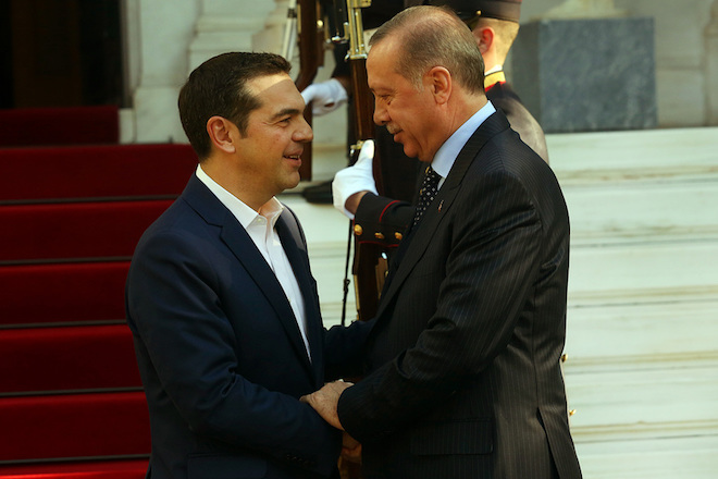 «Κλείδωσε» το τετ α τετ Τσίπρα – Ερντογάν