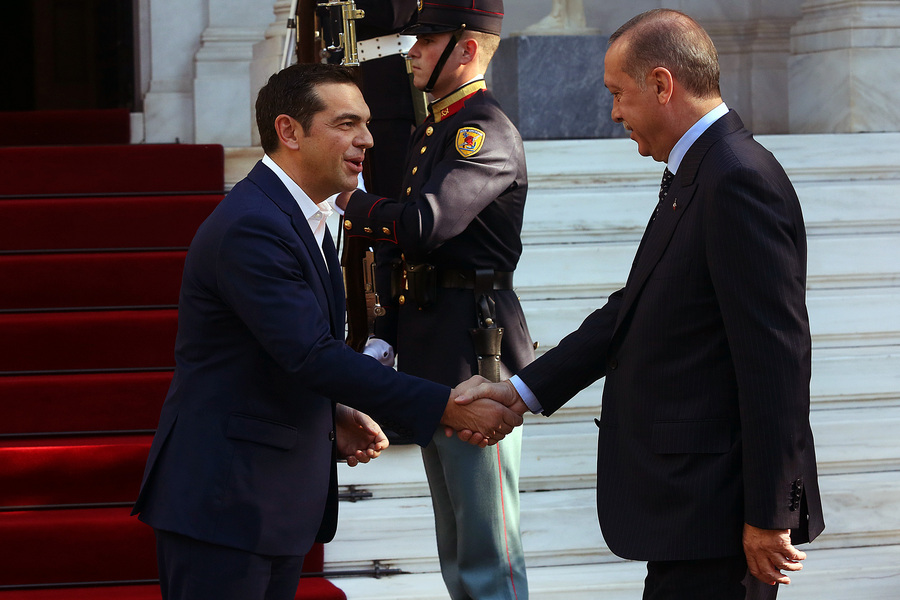 Ανακοινώθηκε επίσημα η επίσκεψη Τσίπρα στην Τουρκία και η συνάντηση με τον Ερντογάν