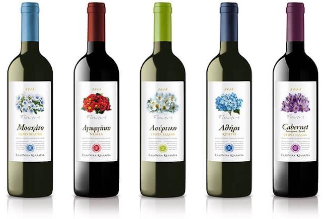 Η σειρά κρασιών «Ποικιλιακά Λουλούδια» της Ελληνικά Κελλάρια Οίνων με νέα, πιο φρέσκια εμφάνιση