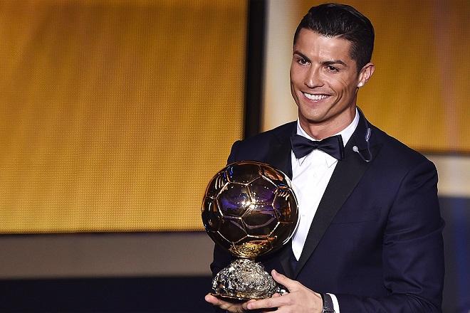 Νικητής της «Χρυσής Μπάλας» ο Κριστιάνο Ρονάλντο