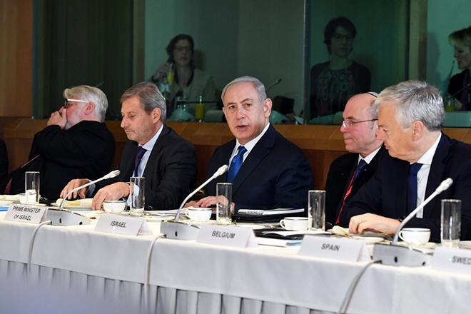 «Όχι» από τους Ευρωπαίους υπουργούς Εξωτερικών στον Νετανιάχου για την Ιερουσαλήμ