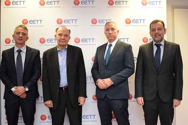ΟΤΕ, Vodafone και WIND υπέγραψαν με την ΕΕΤΤ συμβάσεις χρήσης ραδιοσυχνοτήτων