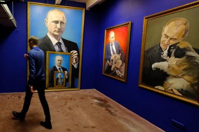 Ο «ΣούπερΠούτιν» τιμάται σε μουσείο της Μόσχας
