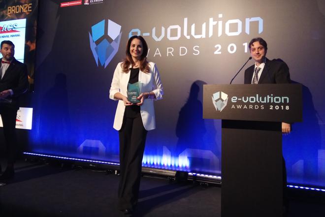 Χρυσή Χορηγία και Διάκριση για την ΑCS στα e-volution Awards 2018