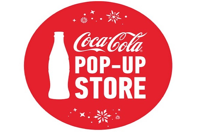Tο Coca-Cola Pop-Up Store, υποδέχεται τα Χριστούγεννα στο Golden Hall