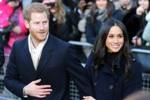 epaselect epa06361095 Britain's Prince Harry (L) and his fiancee, US actress Meghan Markle visit the Terrence Higgins Trust World AIDS Day charity fair at the Nottingham Contemporary, Britain, 01 December 2017. This is the newly-engaged couple's first joint official public engagement. Prince Harry and Markle announced their engagement on 27 November 2017 and are due to marry at Windsor Castle in May 2018.  EPA/NIGEL RODDIS