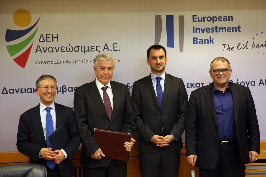 Χρηματοδότηση 85 εκατ. ευρώ της Ευρωπαϊκής Τράπεζας Επενδύσεων στη ΔΕΗ