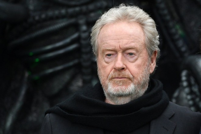 epa06345193 (FILE) - British director Ridley Scott arrive for the world premiere of his movie 'Alien: Covenant' in London, Britain, 04 May 2017 (reissued 23 November 2017). Scott will celebrate his 80th birthday on 30 November 2017.  EPA/FACUNDO ARRIZABALAGA