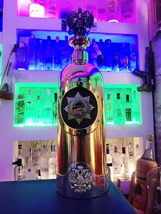 Worlds most expensive bottle of vodka stolen