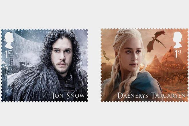 Ανάρπαστα αναμένεται να γίνουν τα γραμματόσημα με τους ήρωες του Game of Thrones