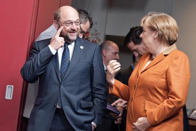 «Σάρκα και οστά» αρχίζει να παίρνει ο συνασπισμός Μέρκελ- Σουλτς στη Γερμανία