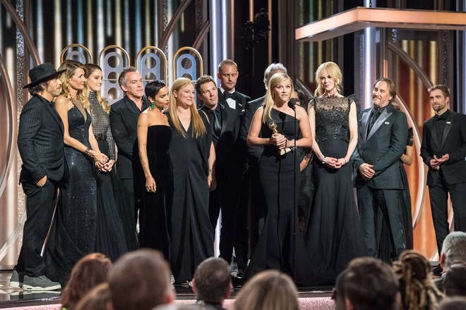 Σε δημοπρασία για την ενίσχυση του Time's Up τα φορέματα που φόρεσαν οι αστέρες στις Χρυσές Σφαίρες
