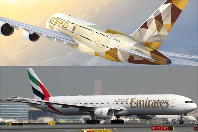 Emirates και Etihad Airways ενώνουν τις δυνάμεις τους