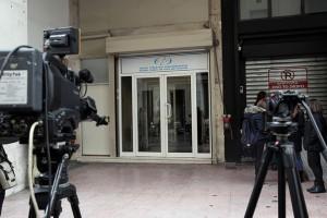 Τα γραφεία του Εθνικού Συμβουλίου Ραδιοτηλεόρασης, Πέμπτη 11 Ιανουαρίου 2018. Εκπρόσωποι τηλεοπτικών καναλιών θα καταθέσουν φάκελους με την αίτηση τους για τον διαγωνισμό των τηλεοπτικών αδειών. ΑΠΕ-ΜΠΕ /ΑΠΕ-ΜΠΕ/ ΣΥΜΕΛΑ ΠΑΝΤΖΑΡΤΖΗ