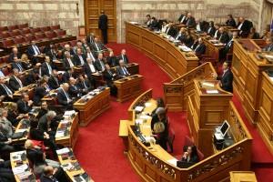 """Ο πρωθυπουργός Αλέξης Τσίπρας μιλάει στη σημερινή συζήτηση του πολυνομοσχεδίου «Ρυθμίσεις για την εφαρμογή των διαρθρωτικών μεταρρυθμίσεων του Προγράμματος Οικονομικής Προσαρμογής και άλλες διατάξεις"""", Δευτέρα 15  Ιανουαρίου 2018. ΑΠΕ-ΜΠΕ/ΑΠΕ-ΜΠΕ/Αλέξανδρος Μπελτές"""