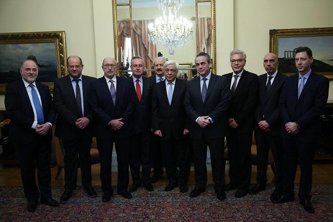 Τα βήματα για την ενίσχυση της επιχειρηματικότητας τόνισε ο Π. Παυλόπουλος στον ΕΒΕΑ