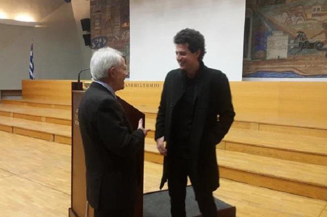 Κοσμοσυρροή στη διάλεξη του Έλληνα επιστήμονα που έλυσε το Γρίφο του Νας