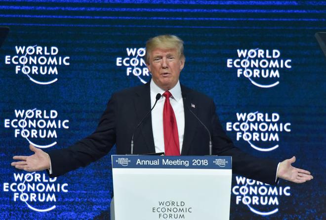 Τραμπ στο Νταβός: Το «Πρώτα η Αμερική» είναι… καλό για όλο τον κόσμο