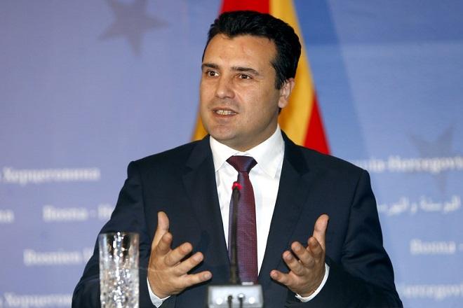 Zάεφ: Η λύση θα διατηρήσει την αξιοπρέπεια των «Μακεδόνων» και των «Ελλήνων» πολιτών