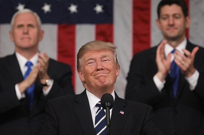 Διάγγελμα Τραμπ: Τα επιτεύγματα του πρώτου έτους και η «ισχυρή Αμερική»