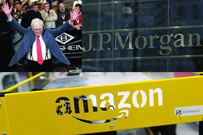 Συμμαχία «γιγάντων» δημιουργούν Amazon, Berkshire Hathaway και JP Morgan