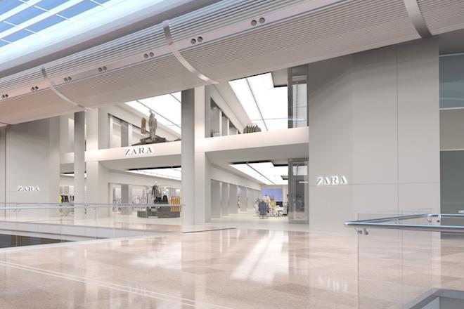 Αυτό είναι το νέο high-tech κατάστημα 4.500 τμ των ZARA