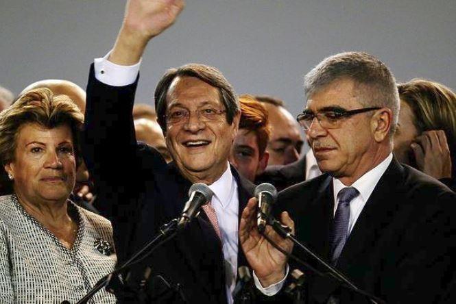 Επανεξελέγη Πρόεδρος με 56% των ψήφων ο Νίκος Αναστασιάδης