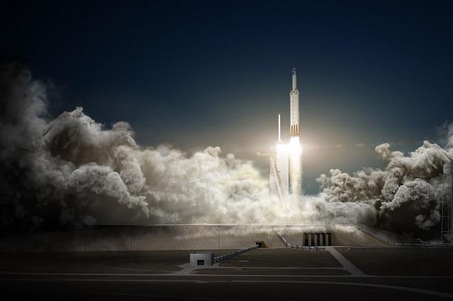 SpaceX: Έγραψε ιστορία εκτοξεύοντας τον ισχυρότερο πύραυλο στον κόσμο