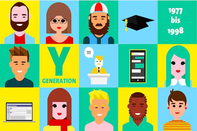 Generation Y, γενια Υ