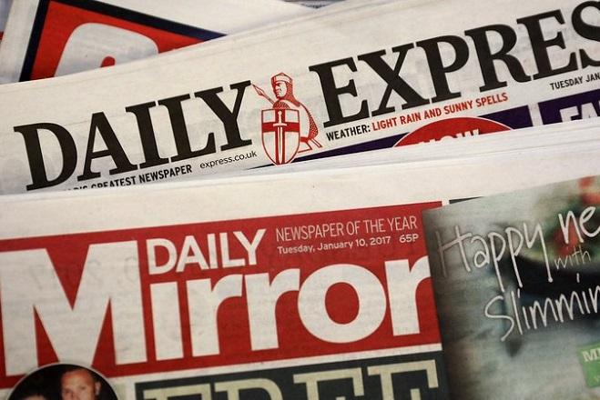 Ανακατεύεται η τράπουλα στον βρετανικό Τύπο; Η Daily Mirror εξαγοράζει Daily Express και Daily Star