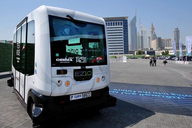 Το Ντουμπάι υποδέχθηκε τα πρώτα αυτόνομα λεωφορεία (Βίντεο)
