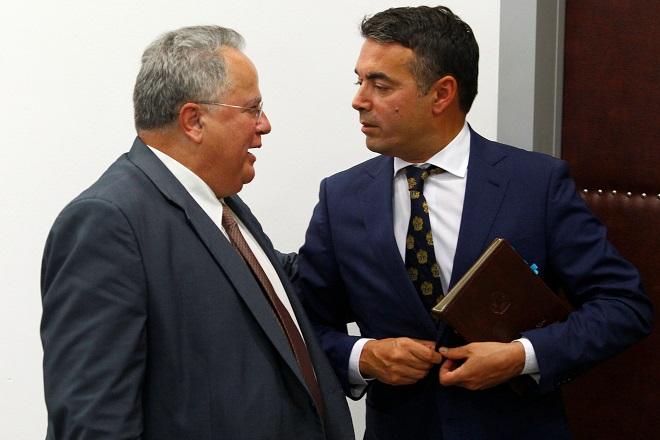 Στο Σούνιο η κρίσιμη συνάντηση Κοτζιά-Ντιμιτρόφ για το ζήτημα της ονομασίας της ΠΓΔΜ