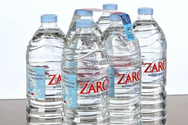 Διάκριση για το κρητικό νερό Zaro's ως το δεύτερο καλύτερο εμφιαλωμένο νερό στον κόσμο