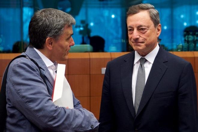 Óõíåäñßáóç ôïõ Eurogroup óôéò ÂñõîÝëëåò, ôçí ÄåõôÝñá 22 ÌáÀïõ 2017. (EUROKINISSI/ÅÕÑÙÐÁÚÊÇ ÅÍÙÓÇ)