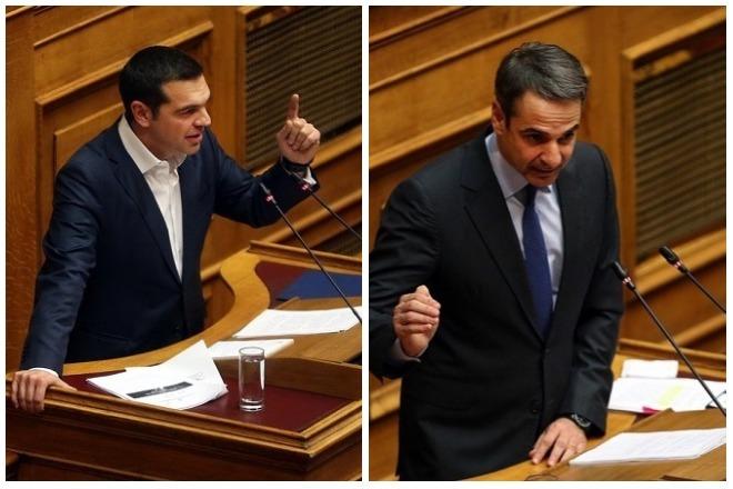 Ισχυρό προβάδισμα της ΝΔ έναντι του ΣΥΡΙΖΑ σε νέα δημοσκόπηση