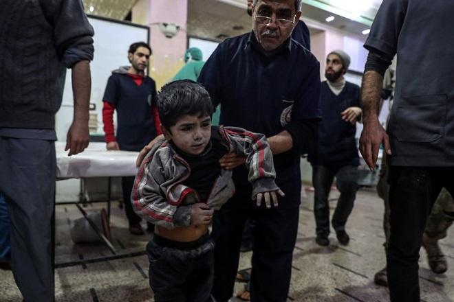 Περισσότεροι από 400 άμαχοι νεκροί σε 5 ημέρες βομβαρδισμών στην ανατολική Γούτα
