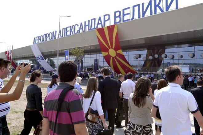 Αφαιρείται η ονομασία «Μέγας Αλέξανδρος» από το αεροδρόμιο των Σκοπίων
