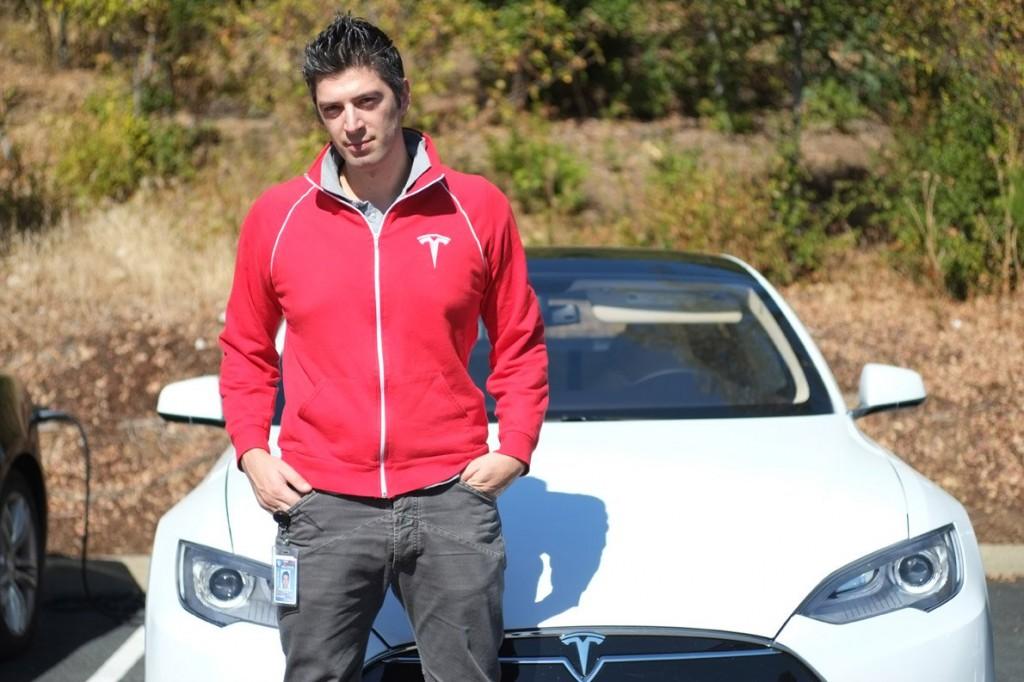 Ο κύριος σχεδιαστής αυτοκινήτων Κωνσταντίνος Λάσκαρης.