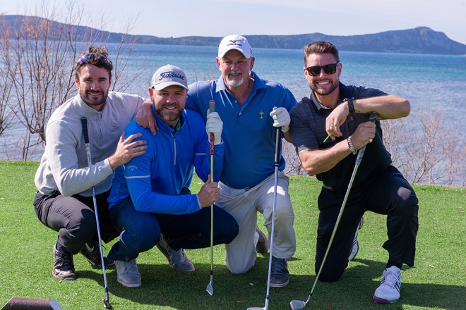 Thom Evans, Brian McFadden, Gordon Brand Jr, Keith Duffy
