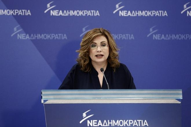 Σπυράκη: Ο ανασχηματισμός επιβεβαίωσε ότι ο κ. Τσίπρας είναι αδύναμος πρωθυπουργός
