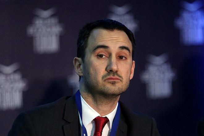 Ο αναπληρωτής υπουργός Οικονομίας και Ανάπτυξης, Αλέξης Χαρίτσης, συμμετέχει σε συζήτηση στο Οικονομικό Φόρουμ Δελφών που γίνεται στο Ευρωπαϊκό Πολιτιστικό Κέντρο Δελφών, Σάββατο 3 Μαρτίου 2018. ΑΠΕ-ΜΠΕ/ ΑΠΕ-ΜΠΕ/ ΟΡΕΣΤΗΣ ΠΑΝΑΓΙΩΤΟΥ