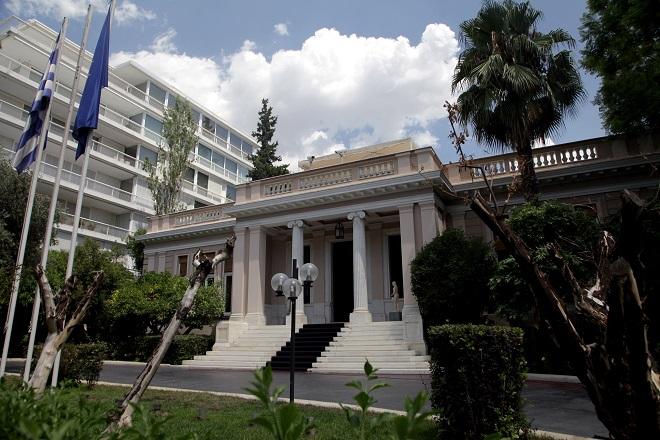 Συναντήσεις για τη ΔΕΗ, το χρηματοπιστωτικό σύστημα και τη δράση του Ιδρύματος Νιάρχος είχε ο Κ. Μητσοτάκης στο Μαξίμου
