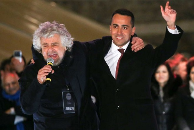 Ιταλία: Κέρδισαν τα Πέντε Αστέρια και η κεντροδεξιά – Δεν υπάρχει σαφής πλειοψηφία στο κοινοβούλιο