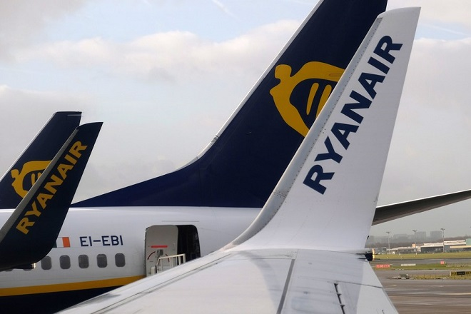 Νέες διαδρομές από τη Ryanair στα δρομολόγια Αθήνας, Θεσσαλονίκης και Χανίων