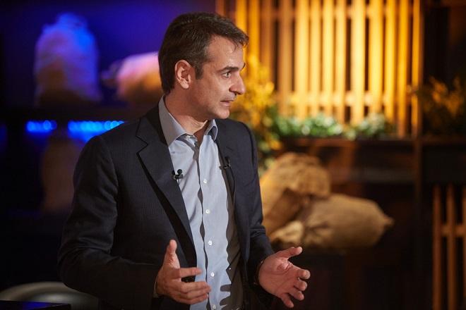Ο πρόεδρος της Νέας Δημοκρατίας, Κυριάκος Μητσοτάκης, σε συζήτηση με τοπικούς φορείς της Ρόδου, στο πλαίσιο της διήμερης επίσκεψής του στη Σύμη και τη Ρόδο, την Τρίτη 6 Μαρτίου 2018. ΑΠΕ-ΜΠΕ/ΓΡΑΦΕΙΟ ΤΥΠΟΥ ΝΔ/ΔΗΜΗΤΡΗΣ ΠΑΠΑΜΗΤΣΟΣ